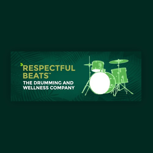 Drums, Health & Wellness Facebook Cover