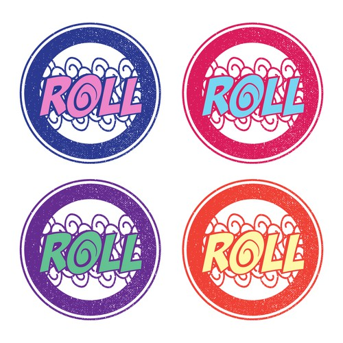 Rolled Ice Cream business logo