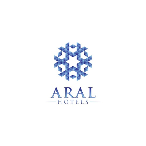 logo concept for Aral Hotels