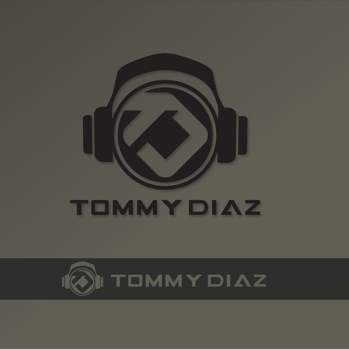 DJ Logo design for Tommy Diaz