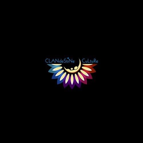 Logo concept for clandestine