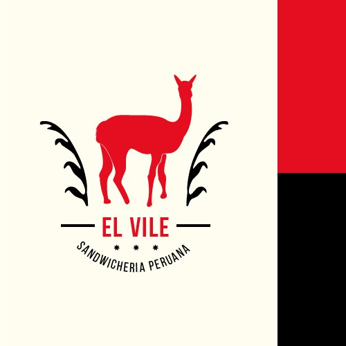 """El Vile"" sandwicheria logo design"