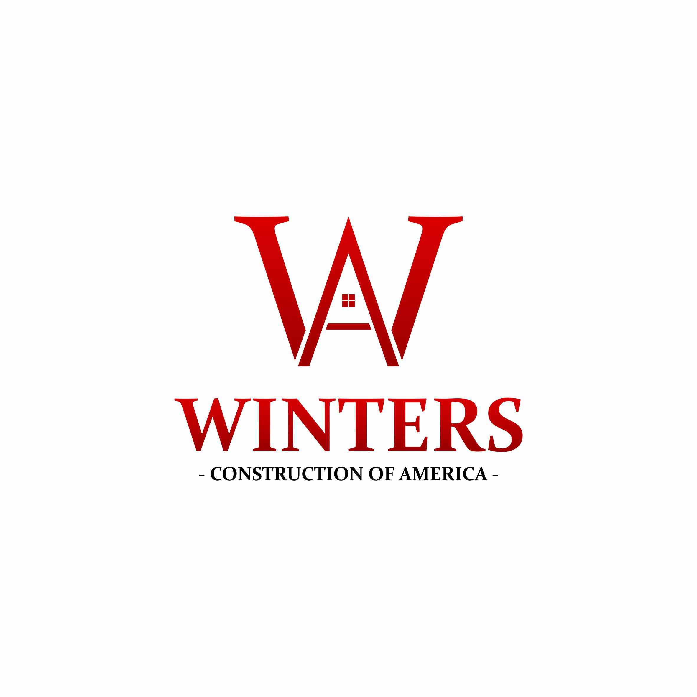 Create a logo for Winters Construction of America