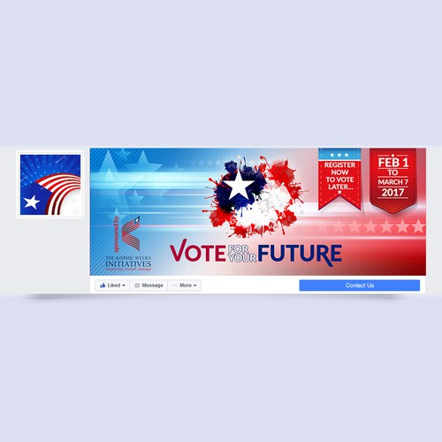 Register to vote cover