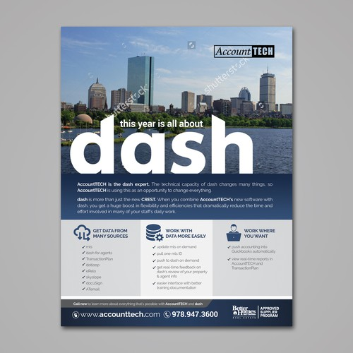 AccountTech Print Advert