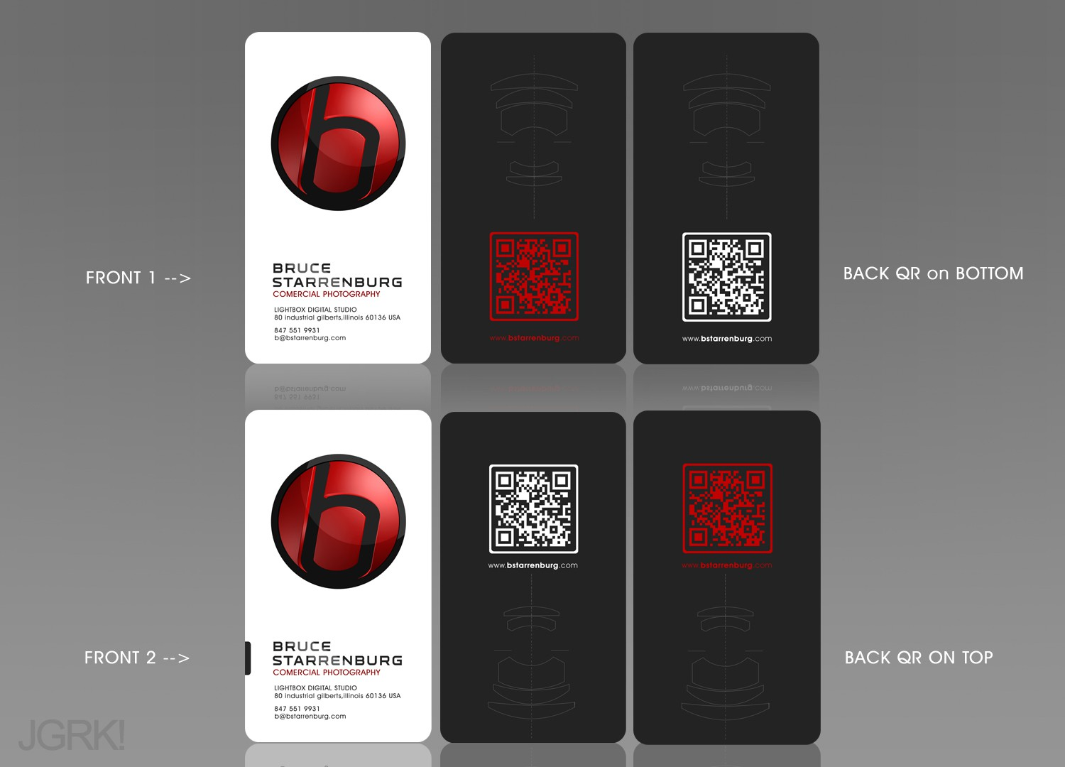 Help Commercial Photography Studio with a new Bizcard/Letterhead  design