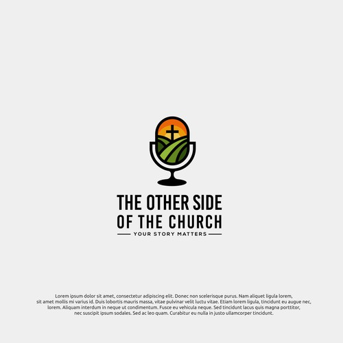 logo concept for the other side of the church
