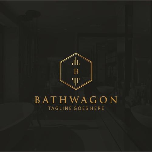 Bathwagon Logo Design