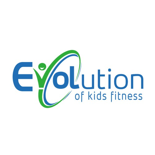 Modern and fun logo design for revolution in kids fitness