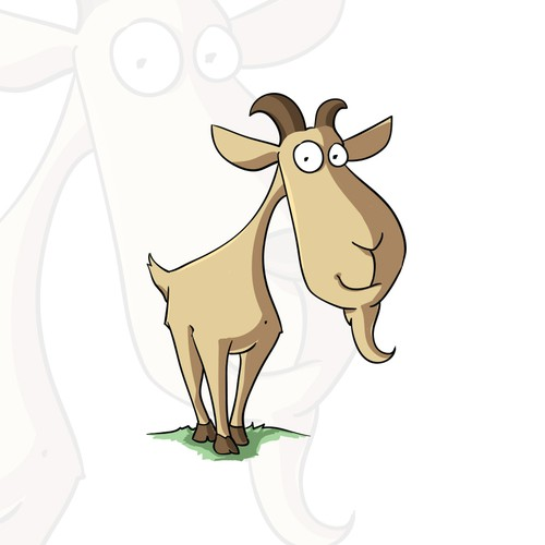 Cute Funny Goat