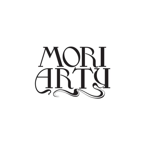 Please imitate the style of type in the pics I've attached to display the word MORIARTY.. or Moriarty.