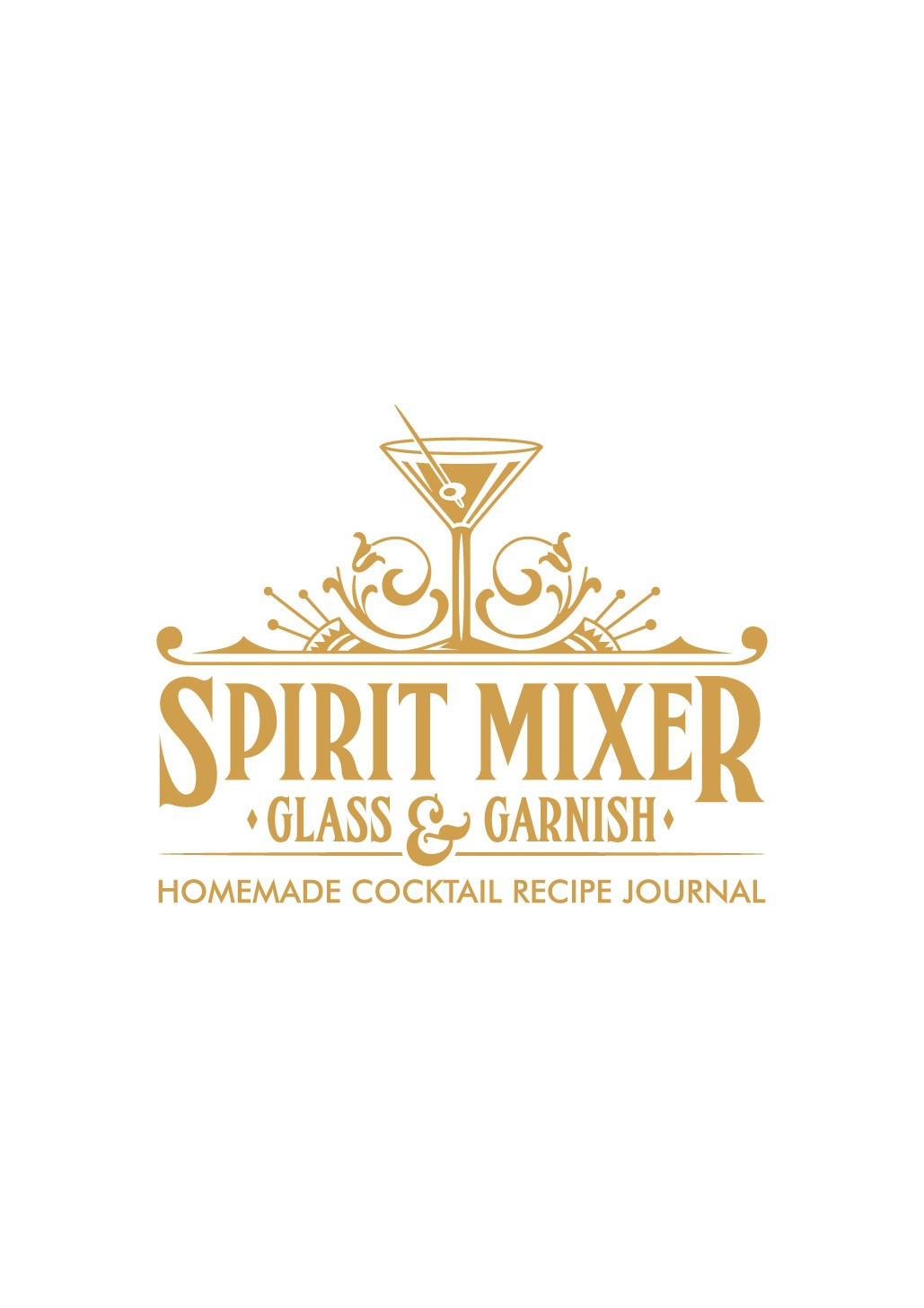 Grab a Drink and Design a Cocktail Recipe Journal