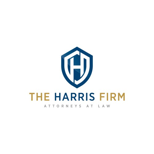Logo proposal for The Harris Firm
