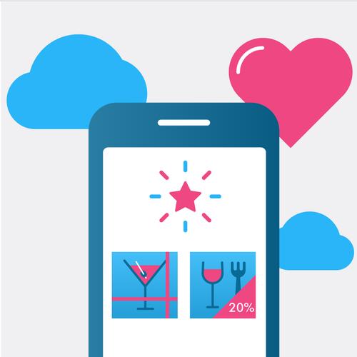restauration app illustrations