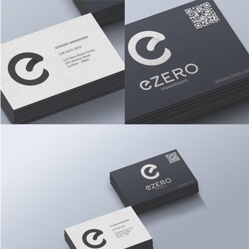 Simple Modern for E-Zero Logo