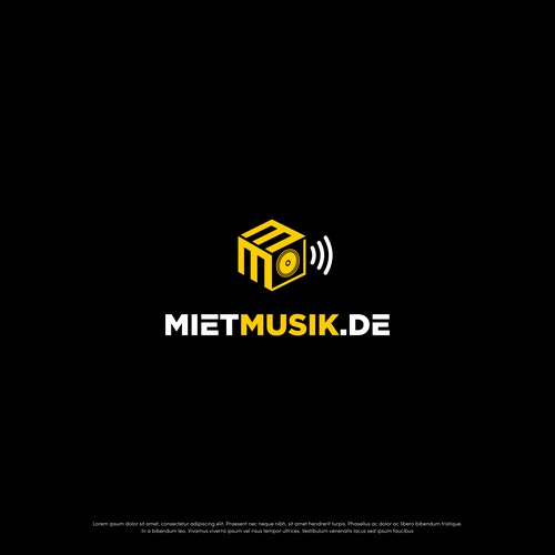 Bold Logo for MIet Musik Sound Rental