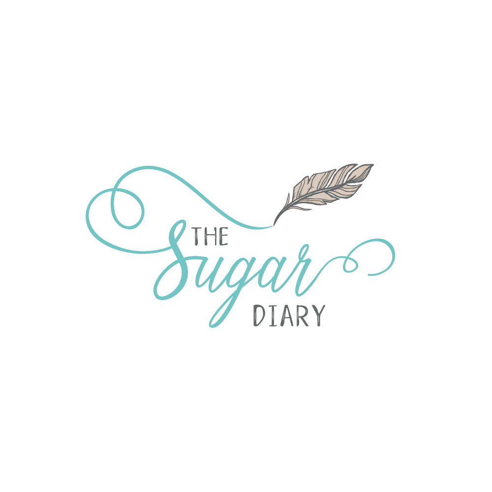 Create a stylish and soulful logo for The Sugar Diary