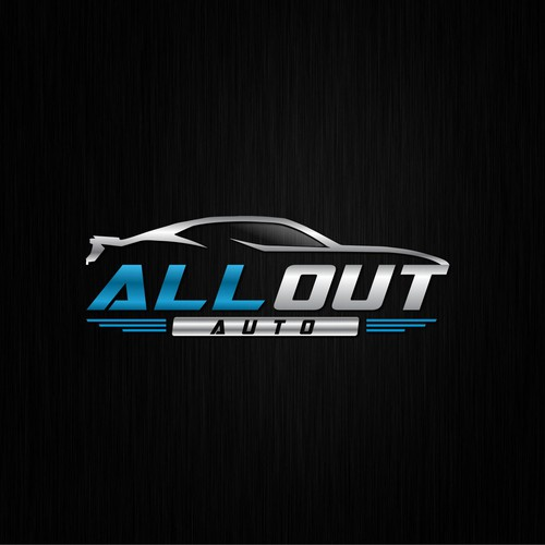 Design a Logo For All Out AUto