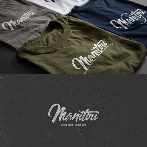 Appealing Hand-Lettered Logo-Type for a Clothing Company