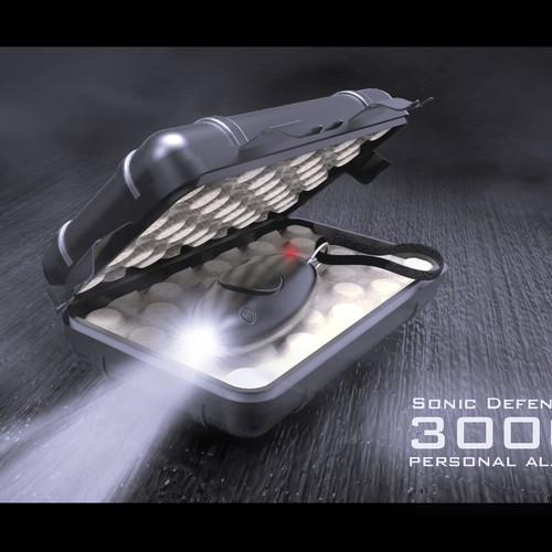 Sonic Defender 3000 Personal Alarm