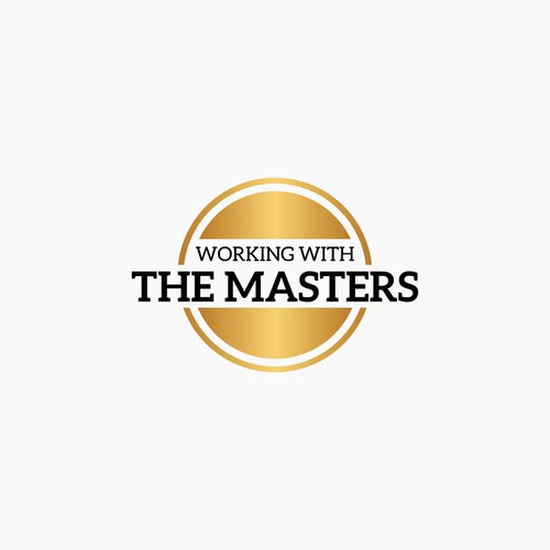 Design logo Working with the masters