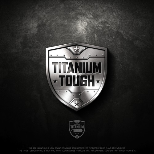 Logo design for Titanium Tough