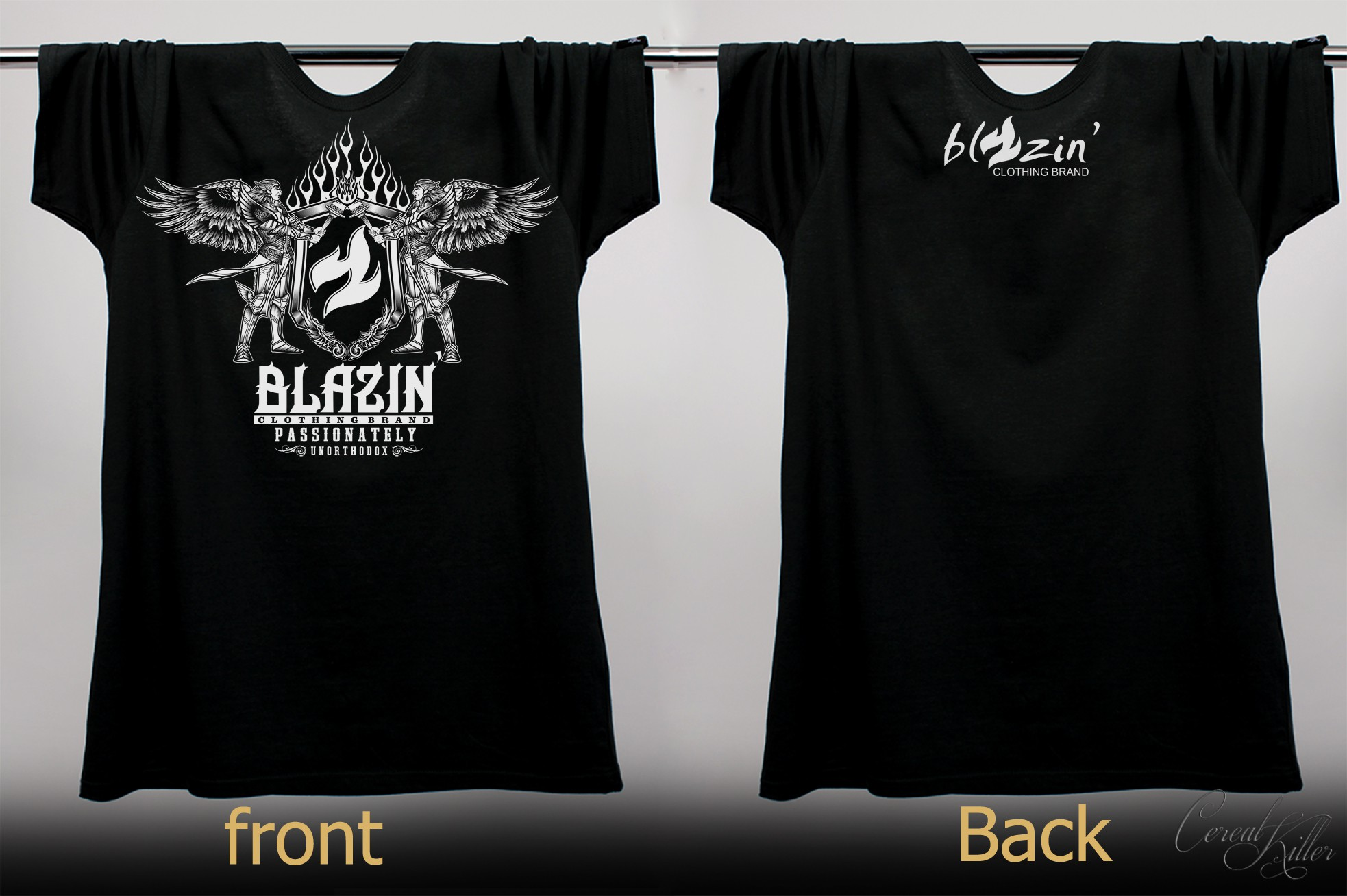 Create a hot t-shirt design
