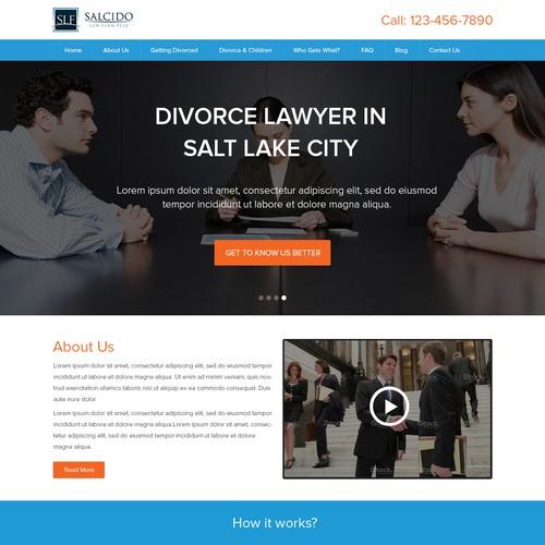 Salt Lake City Divorce Lawyer Website