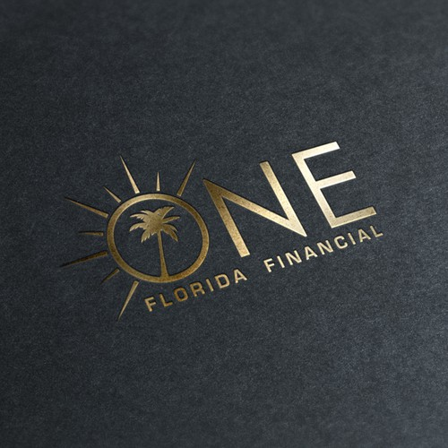 Logo concept for financial company in Florida