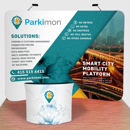 Parkimon Backdrop Parking Management