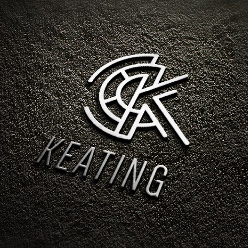 Keating Watches Logo Design