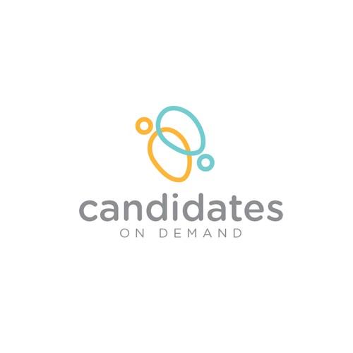 Candidates logo design