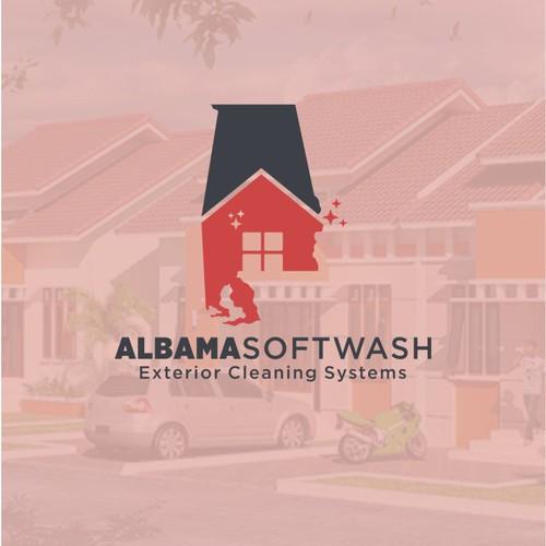 Alabama Softwash logo