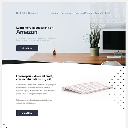 Amazon Seller Site Concept