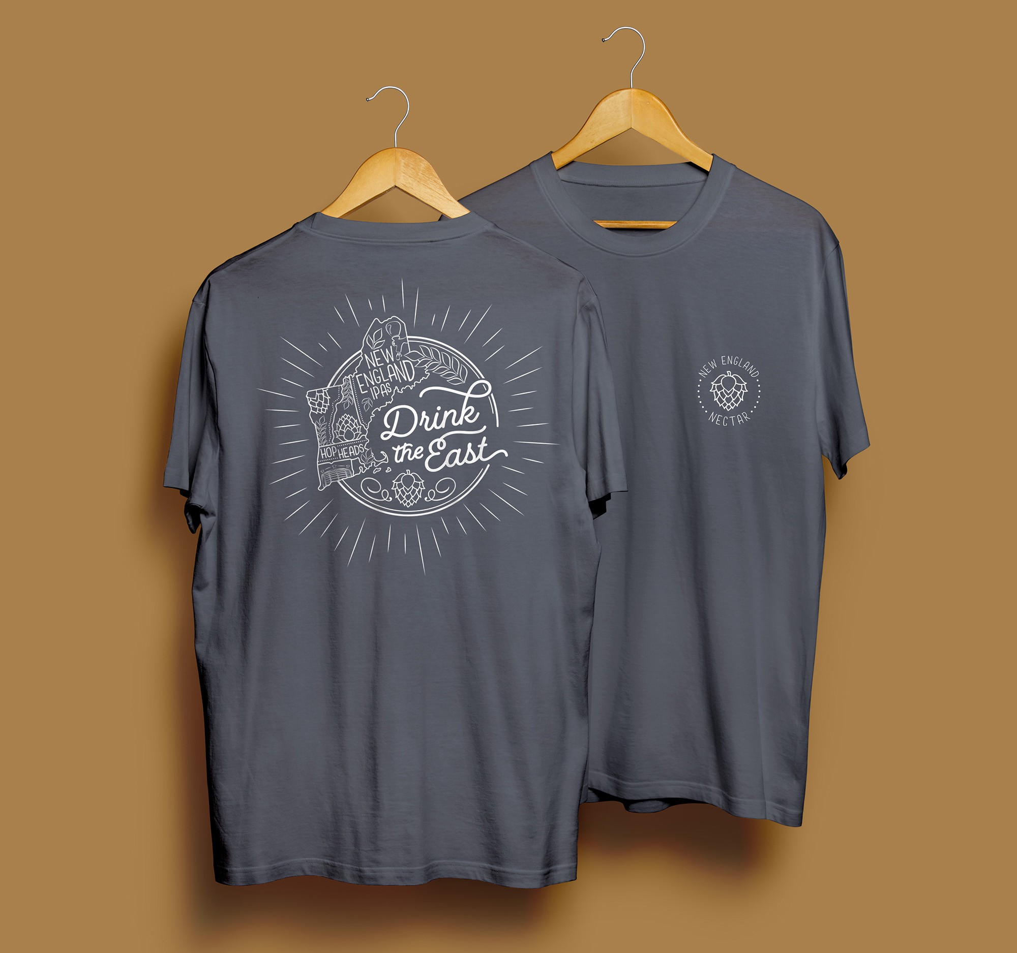 DRINK THE EAST - New England IPA T-Shirt