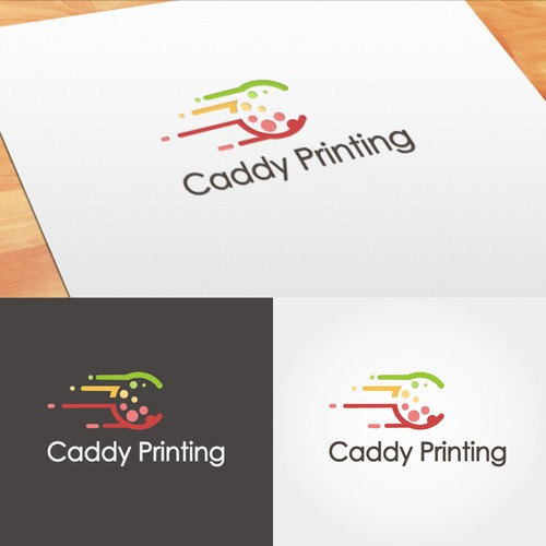 Logo for Caddy Printing