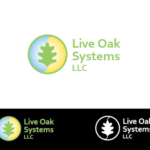 Create the next logo for Live Oak Systems LLC