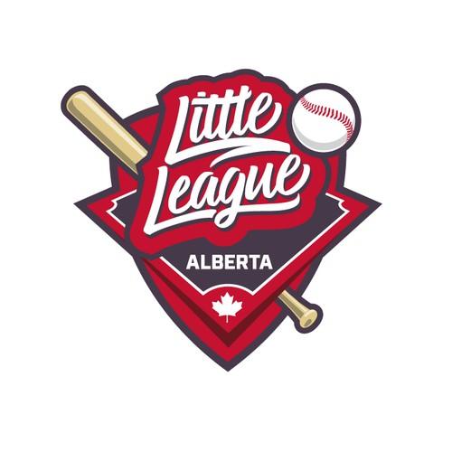 Alberta's Little League Baseball Logo