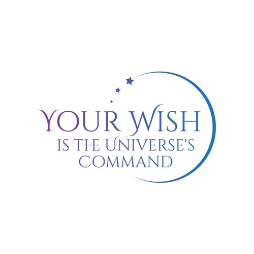 Logo for A course and book to be titled: Your Wish is the Universe's Command