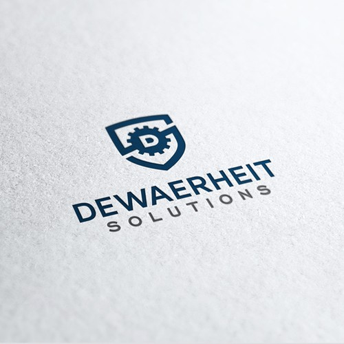 Logo for a Belgium Machinery Company.