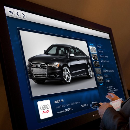 Interactive TV for a Car Dealership