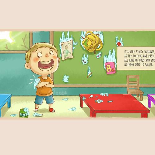 Children book Illustration concept