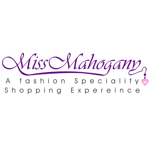 Create a iconic logo for a women's fashion specialty shop