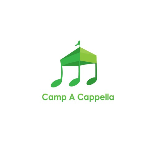 "Unique Design for ""Camp A Capella"""