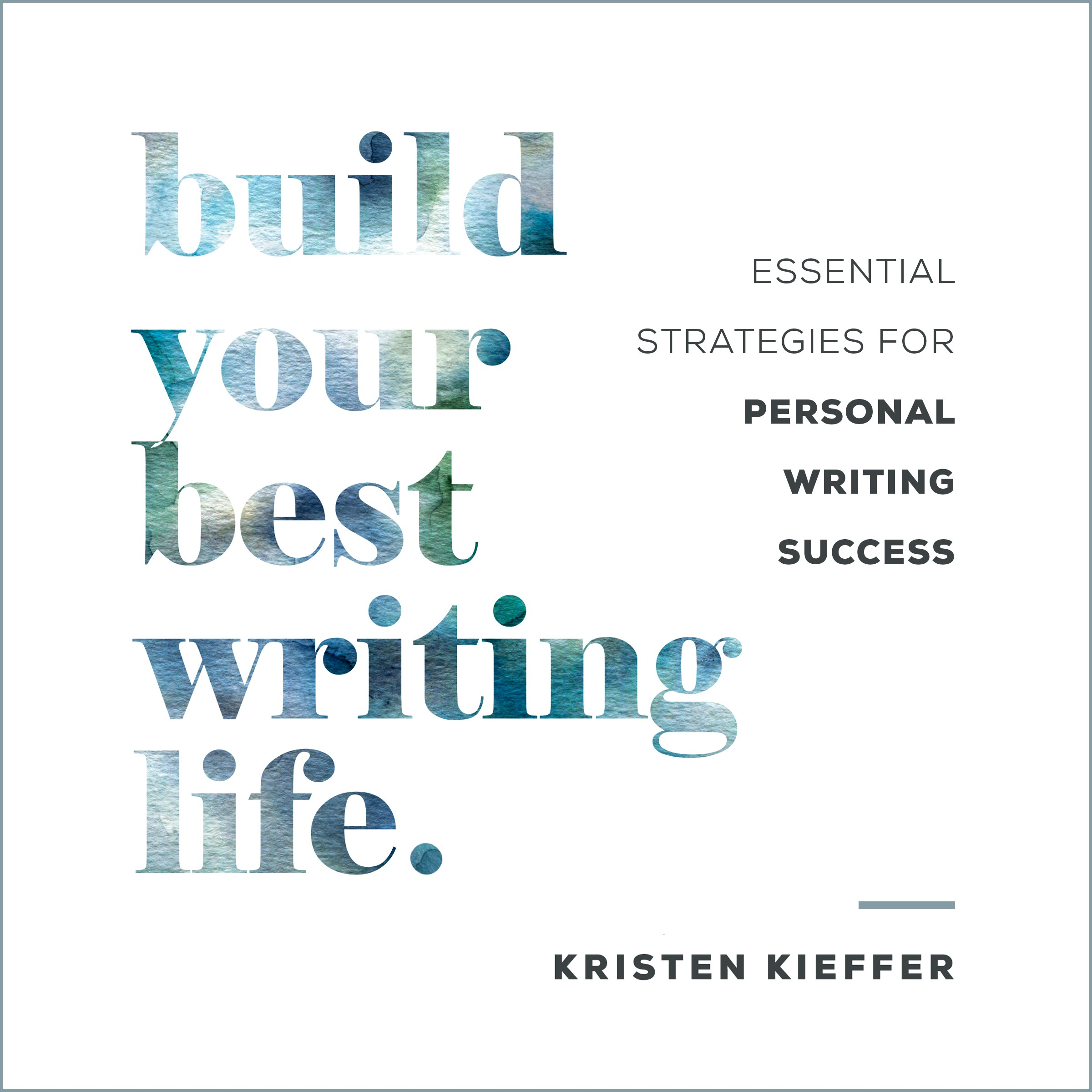 Audiobook Cover: Build Your Best Writing Life