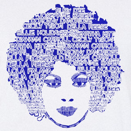 Names of Hollywood Women Tribute Tee