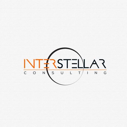 Logo Design for Interstellar Consulting