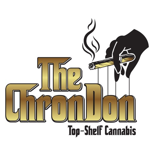 Logo design for top-shelf cannabis brand.