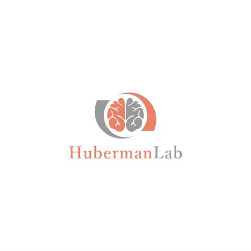 Hubermanlab logo design