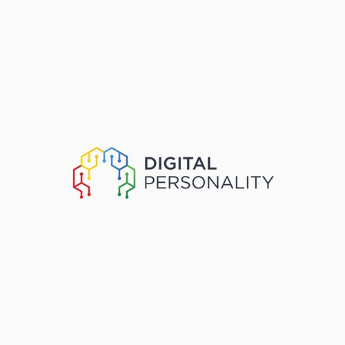 Digital Personality logo concept